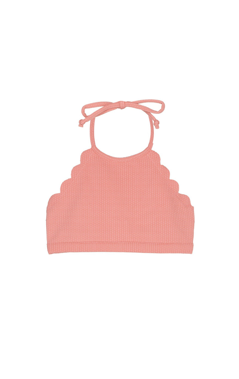 Bumby Mott Top in Coral