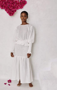 Amorgos Skirt/Dress in Coconut