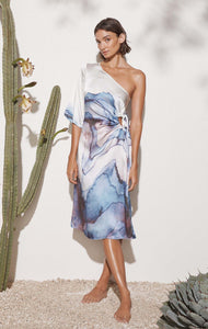 Andria Dress in Electric Print