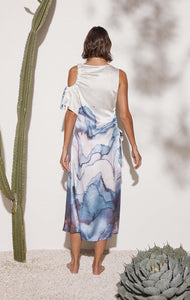 Foggia Dress in Electric Print