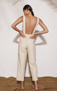 Murex Jumpsuit in Safari/Coconut