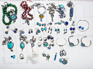 Blue on Blue: The Anatomy of a Blue-Themed Jewelry Collection