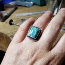 Chrysocolla Ring - size 7