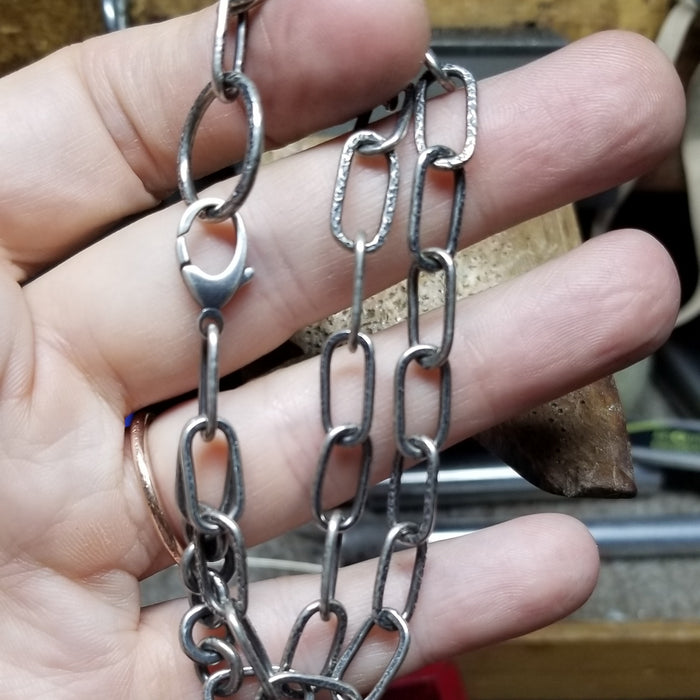 Double Chain Sterling Silver Bracelet