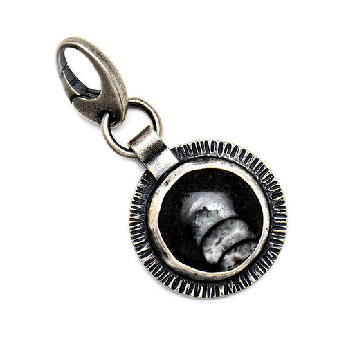 Small fossil charm - one of a kind