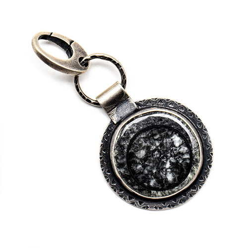 Large fossil charm - one of a kind