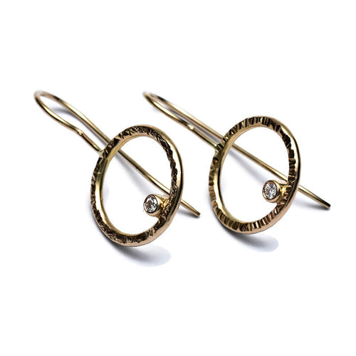 Halo Collection - Earrings with diamond