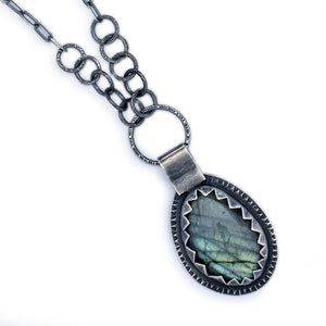 Labradorite Necklace #3