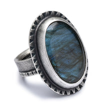Labradorite Cocktail Ring #2 - size 7.5