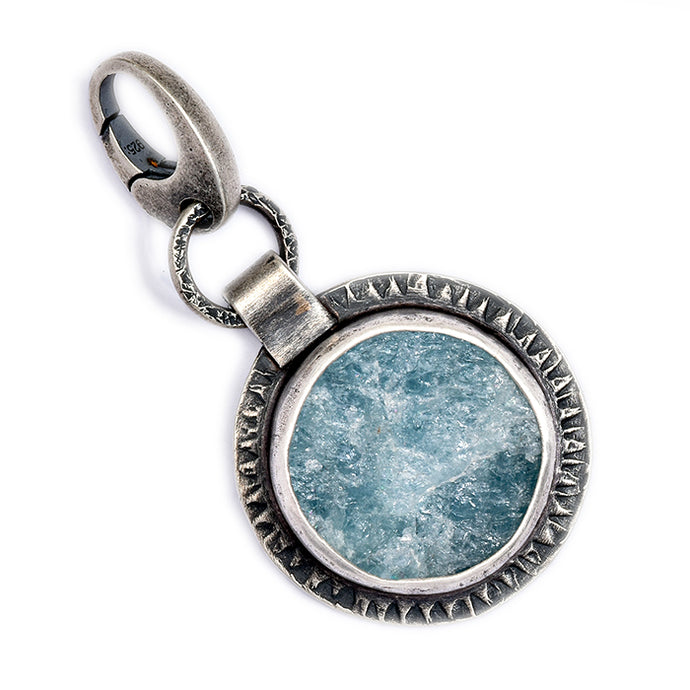 Large Aquamarine Charm