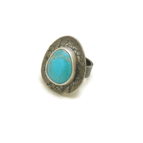 Turquoise ring - one of a kind