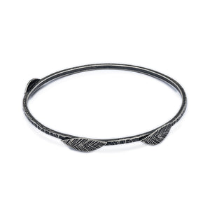 Leaf Detail Bangle