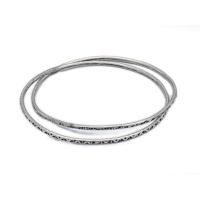 Double Intertwined Bangle