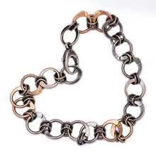 Rose Gold and Silver Bracelet
