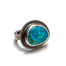 Arizona turquoise ring - one of a kind - size 6