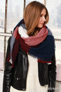 Blanket Scarf - 4 Colors