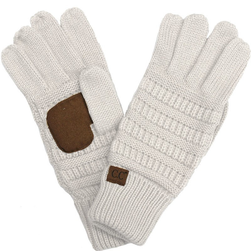 CC Touch Screen Gloves - Ivory