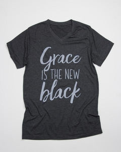 """Grace is the New Black"" Graphic Tee"