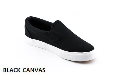 Slip-on Sneaker - Black Canvas
