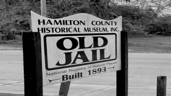 Old Hamilton County Jail, Jasper - FL - September 2019 Events