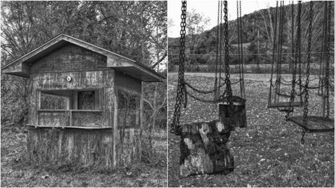 Abandoned Lake Shawnee Amusement Park, Rock - West Virginia - September Events
