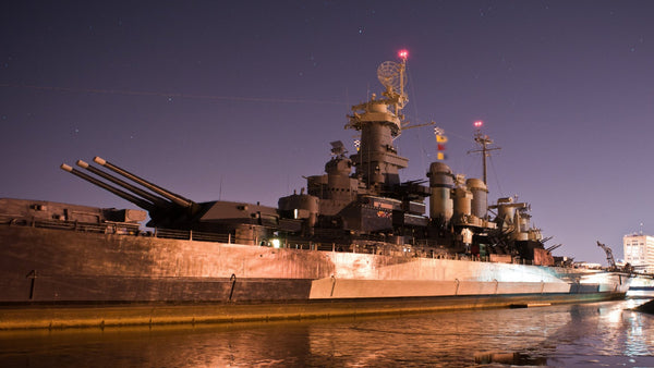 USS Battleship North Carolina | Friday October 18th 2019