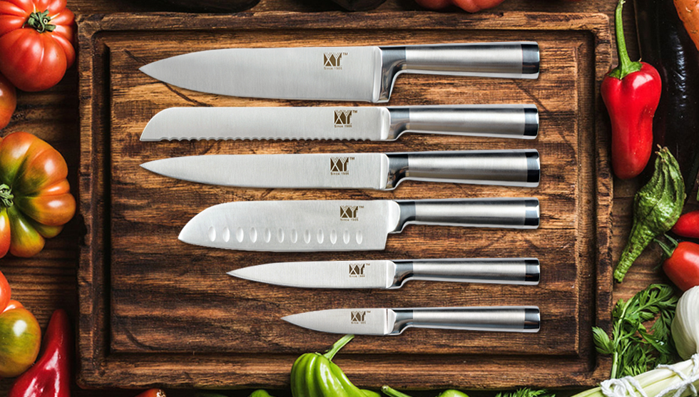 Six Piece XYj Knife Set (Rare Model)