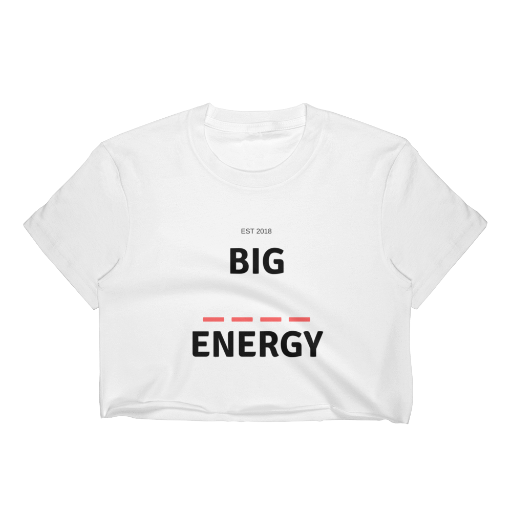 Big Energy Crop Top