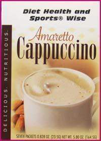 Amaretto Cappuccino Hot Drink Mix with Sucralose- (DHSW) - 138 PURCHASE by MIX and MATCH WHOLESALE For Big Savings