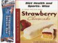 Strawberry Cheesecake with Yogurt 12 gm Protein Bar 260  ORDER 24 BOXES OF Deluxe BARS and GET 25% OFF (DHSW)