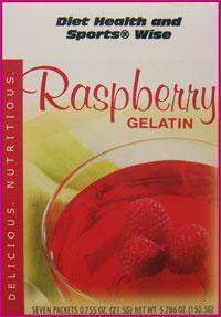 Raspberry Gelatin Mix - (DHSW) 180 PURCHASE by MIX and MATCH WHOLESALE For Big Savings