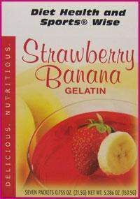 Strawberry Banana Gelatin Mix - (DHSW) 178 PURCHASE by MIX and MATCH WHOLESALE For Big Savings