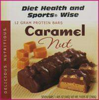 Caramel Nut Bar 12 gm Protein 259 ORDER 24 BOXES OF PREMIER BARS and GET 25% OFF (DHSW)
