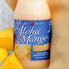 Aloha Mango Smoothie BOTTLED Drink Mix - 213 Less than $2/btl (DHSW) By Healthwise