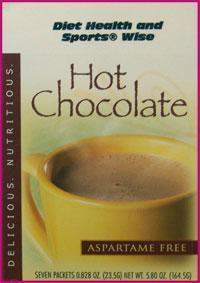 """Classic"" Hot Chocolate Drink Mix with SUCRALOSE - (DHSW) 126 PURCHASE by MIX and MATCH WHOLESALE For Big Savings"
