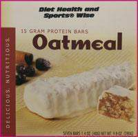 Oatmeal with Yogurt Coating 13 gm Protein Bar 255 ORDER 24 BOXES OF Deluxe BARS and GET 25% OFF (DHSW) (Price is per case 24 boxes)