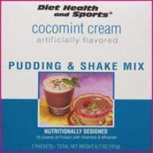 ChocoMINT Cream Pudding/Shake Mix Robard over 50% Off - 853- Advanced Health Systems (DHS) Diet Health and Sports Brand Meal Replacement Low Cost Discount