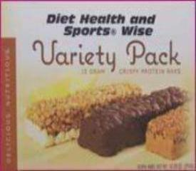 "Variety Pack ""Crispy"" 15g Protein Bars - 271 ORDER 24 BOXES OF Crispy BARS and GET 25% OFF (DHSW)"