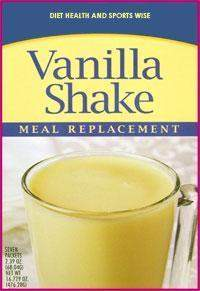 Vanilla 35g Protein Meal Replacement Shake Mix w/ Sucralose - 243 WHOLESALE CASE 20% Off (18 boxes/case 7 servings/box normally $20.25/box) (DHSW)