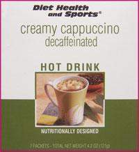 Creamy Hot CAPPUCCINO Decaffeinated Drink Mix 704 Price per case (40 boxes/case 7 servings/box normally $14.25/box) (DHS)