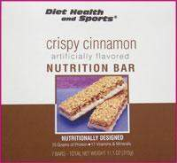 Crispy Cinnamon Bar 820 WHOLESALE CASE 16% Off (18 boxes/case 7 servings/box normally $14.25/box) (DSH)