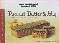 "Peanut Butter and JELLY ""Crispy"" Bar - 270 ORDER 24 BOXES OF Crispy BARS and GET 25% OFF (DHSW)"