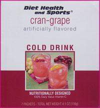 Cran-Grape Drink Mix 714 WHOLESALE CASE 50% off (40 boxes/case 7 pkts/box 280 svg/case) (DHS)