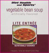 Vegetable Bean High Protein Hot Soup Mix 750 Price per case (24 boxes/case 7 servings/box normally $14.25/box) (DHS)