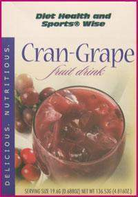 Cran-Grape Fruit Drink Mix - (DHSW) 153  PURCHASE by MIX and MATCH WHOLESALE For Big Savings