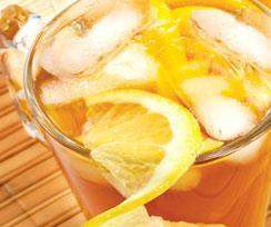 Lemon Tea Flavored FIBER Drink 143 Price for Case 24 boxes 10 Packets per Box 24 Boxes per Case - (DHSW)