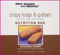 Crispy Fudge & Graham Bar 822 WHOLESALE CASE 16% Off (18 boxes/case 7 servings/box normally $14.25/box) (DSH)