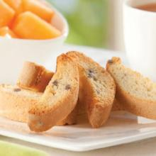 Almond Chip Fat Free Biscotti 336- (Just $9.67/Bag  SAVE OVER $100 - (DHSW) Made by Healthwise