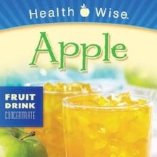 Apple Flavored LIQUID Concentrated Drink Mix less than $10/box with Sucralose less 15 gm Protein/packet 053 (DHSW) Made by Healthwise
