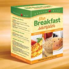 Variety Breakfast Sampler Pack - 199 - Less than $10/box (DHSW) by Healthwise